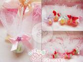 娃娃屋樂園~花鑽手作喜糖.水果棒棒糖 10枝60元/婚禮小物設計/喜糖籃/送客/花束