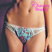 Chasney Beauty-gemma花叢間S-M丁褲(水藍)