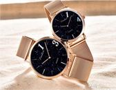 1314情侶手錶情侶款一對價女男士時尚潮流韓版簡約星空情侶錶學生  享購