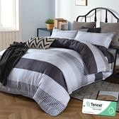 雙人 152x188cm 頂級100%天絲 40s400針紗 床包四件組(兩用被套)-辛夷 【金大器】