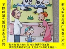 二手書博民逛書店There罕見are cute pandas(Suggest E
