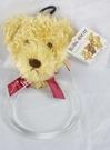 【震撼精品百貨】日本泰迪熊~毛巾掛『紅蝴蝶結』