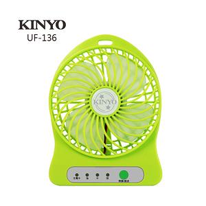 KINYO小旋風涼風扇 UF-136