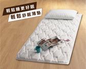 單人3.5尺/一郎日式睡眠品質 輕鬆睡舒眠薄墊(泡棉)【 赫拉居家 】