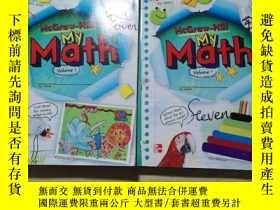 二手書博民逛書店罕見-Hill My Math 2 Volume 1、Volume 2Y241214 McGrawHilll