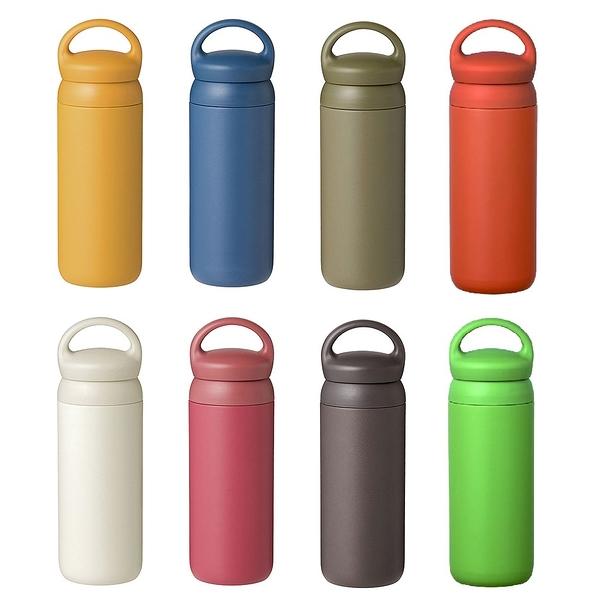 日本KINTO 提式輕巧保溫瓶 500ml 共八色《WUZ屋子》