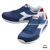 Diadora 新竹皇家 JOG LIGHT C 藍色 布質 運動鞋 男女款 NO.A8725