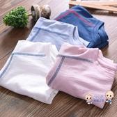 男童T恤 短袖T恤夏裝薄款寶寶竹節棉打底衫上衣童裝兒童棉質半袖t恤衫 4色