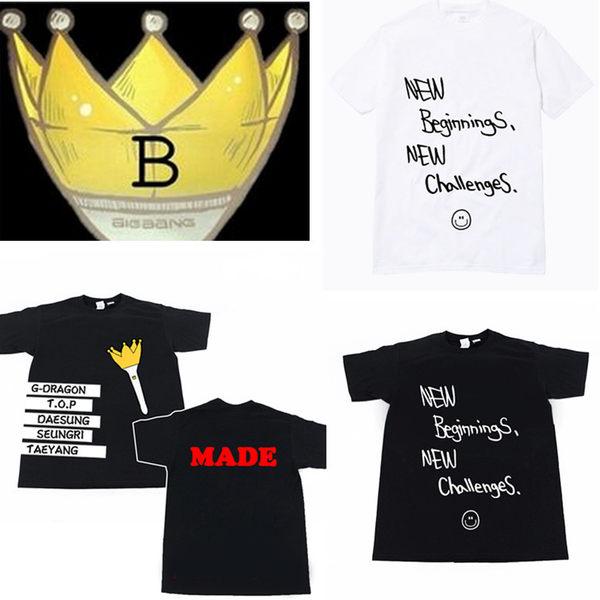 bigbang 權志龍 top同款 短袖T恤