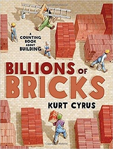 【麥克書店】BILLIONS OF BRICKS/ 平裝繪本《主題: STEM教學--科學 Science 》