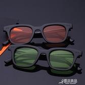 太陽鏡 新款潮流太陽鏡 15937潮牌男女士時尚方框墨鏡透明太陽眼鏡 16【原本良品】