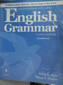 【書寶二手書T7/語言學習_ZBT】Underst. using eng grammar 4/e_Betty S. Az
