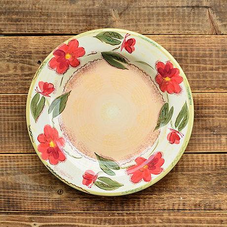 手繪陶瓷|9.7寸平盤|
