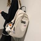 雙肩包2020新款韓版原宿高中簡約百搭書包女大學生大容量ins背包 夢幻小鎮