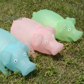 玩具豬會叫的哼哼豬慘叫豬大號夜光豬兒童玩具禮品創意搞怪生日禮