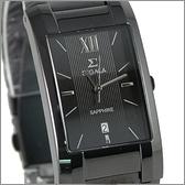 【萬年鐘錶】SIGMA 全黑時尚腕錶 5812M-LB