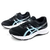 《7+1童鞋》中童 ASICS亞瑟士 CONTEND 6 PS 輕量 運動鞋 機能鞋 5273 水色