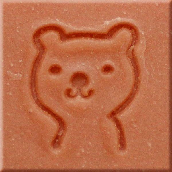 【香草工房】 風格皂章~B002 微笑小熊