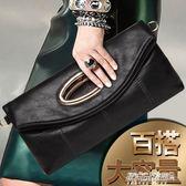 手提包 手拿包女士簡約手提包包女包手包小包大容量手抓包斜背包   傑克型男館