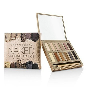 SW Urban Decay-31 眼影盤 Naked Ultimate Basics Eyeshadow Palette: 12x Eyeshadow, 1x Doubled Ended Blending and Smudger Brush