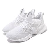 【六折特賣】adidas 慢跑鞋 AlphaBounce Instinct CC M 白 黑 男鞋 運動鞋 襪套式 【PUMP306】 D97278