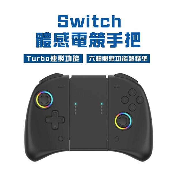 全新品 Switch 競技版手把 超精準 Turbo連發 Joy-con 動森 握把 體感