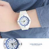 CASIO卡西歐 潛水運動風格白色手錶 休閒運動腕錶 防水100米【NE1278】原廠公司貨