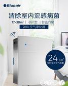 空氣淨化器 Blueair智慧空氣凈化器家用除甲醛吸二手煙霧霾臥室室內氧吧280i 新品