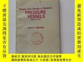 二手書博民逛書店Theory罕見and design of modern pressure vessels【現代壓力容器的理論與設