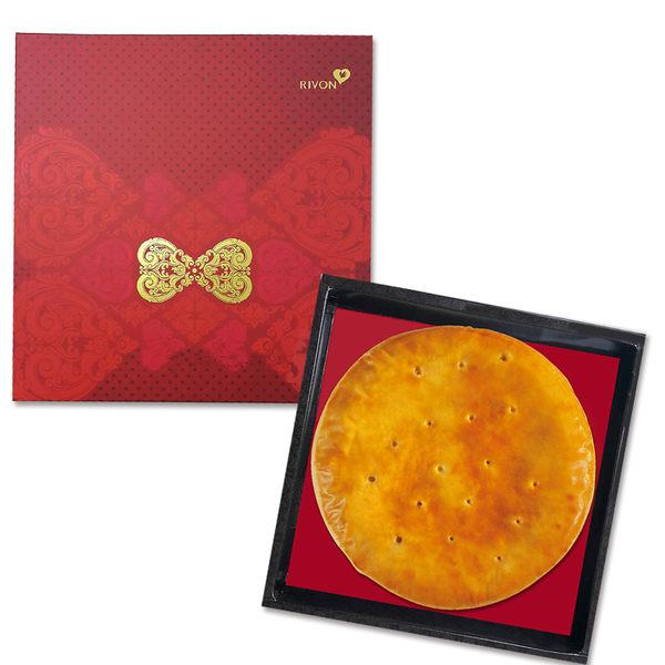 禮坊rivon喜餅-同心大餅系列-相思麻糬(酥皮)12兩大餅禮盒
