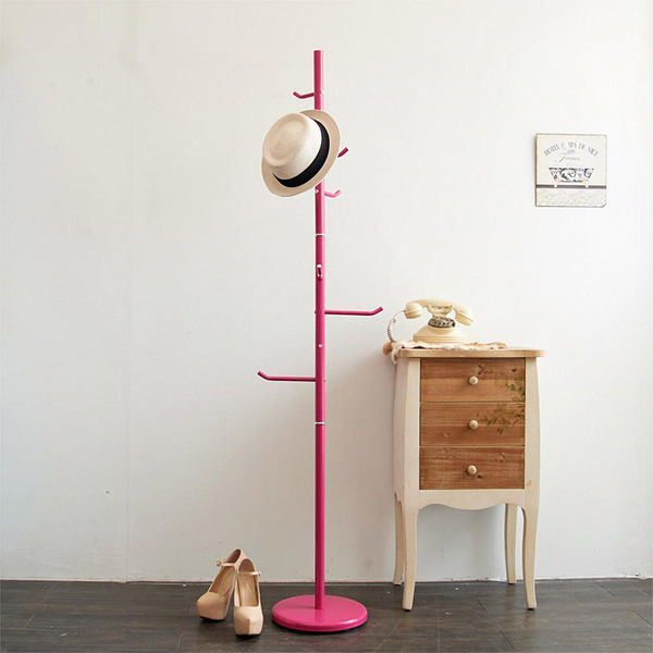 【H&R安室家】時尚樹枝型衣帽架/掛衣架-LS64A