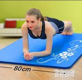 瑜伽墊 加厚加寬15MM初學健身墊體操墊睡墊無味防滑 QX11047 『男神港灣』