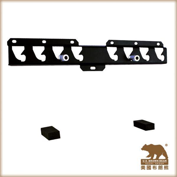 美國布朗熊 Z40 牆板固定式電視壁掛架-適用於23吋~55吋