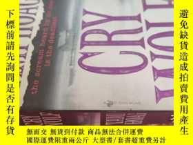 二手書博民逛書店【英文原版】Cry罕見Wolf 狼來了 ( 如圖)Y25633 Tami Hoag Bantam Books