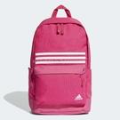 adidas 後背包 Classic 3 Stripes Pocket Backpack 粉紅 白 經典 三條線 【PUMP306】 DT2619