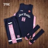 億爾恩志 籃球服套裝男隊服籃球衣籃球男女學生 2019新款背心