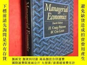二手書博民逛書店Managerial罕見Economics:Fourtb Edi