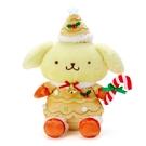 【震撼精品百貨】Pom Pom Purin 布丁狗~三麗鷗~絨毛娃娃-聖誕精靈*28369