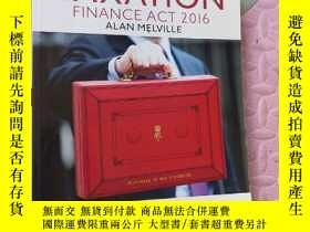 二手書博民逛書店Taxation:罕見Finance Act 2016Y179641 Melville, Alan Pears