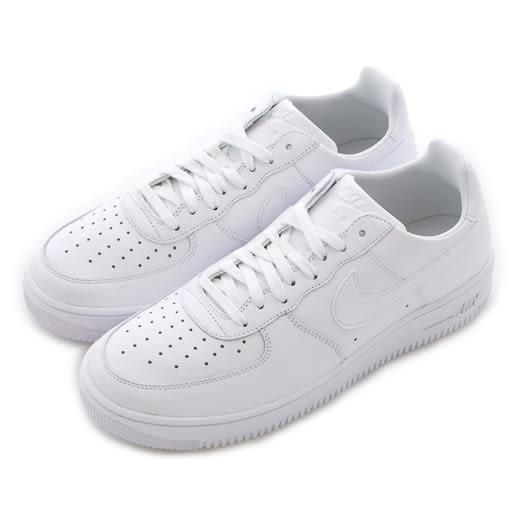 Nike 耐吉 AIR FORCE 1 ULTRAFORCE LTHR 休閒運動鞋 845052101 男 舒適 運動 休閒 新款 流行 經典