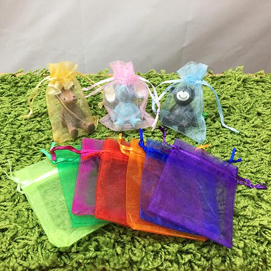 (大號)素色束口紗袋 交換禮物 包裝袋 婚禮小物 素色透明 束口袋 飾品 紗袋【X017】生活家精品