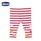 chicco-TO BE-印條紋花朵內搭長褲