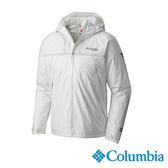 Columbia 男 鈦ODEco防水化纖外套-白色 【GO WILD】