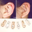 惡南宅急店【0388D】韓版U型耳骨夾 耳夾 無耳洞可 多款任選 韓國氣質耳環 耳環 (單邊售價)