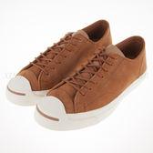 CONVERSE~JACK SPLIT 棕色 牛八哥 軟木塞鞋墊 帆布鞋 (145604C)