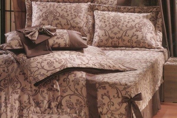 標準雙人-5*6.2尺 瑪東尼奧_都邑人文400條紗7件式床罩組