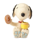 Enesco Snoopy史努比 下午茶迷你塑像_EN97323