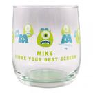 大西賢 日本製玻璃杯 附Luxo Ball造型杯墊 迪士尼 怪獸電力公司 大眼仔 綠_OS60336