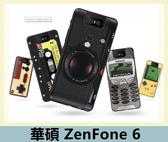 華碩 ASUS ZenFone 6 (ZS630KL) 復古風格手機殼 軟殼 偽裝 復古 超薄 防指紋 全包 矽膠套 手機殼