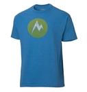 Marmot 美國 | 男款 Textured M Dot 混紡短袖排汗上衣 | 秀山莊(M52880)